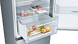 Холодильник з морозильною камерою Bosch KGN39VLDA, фото 3