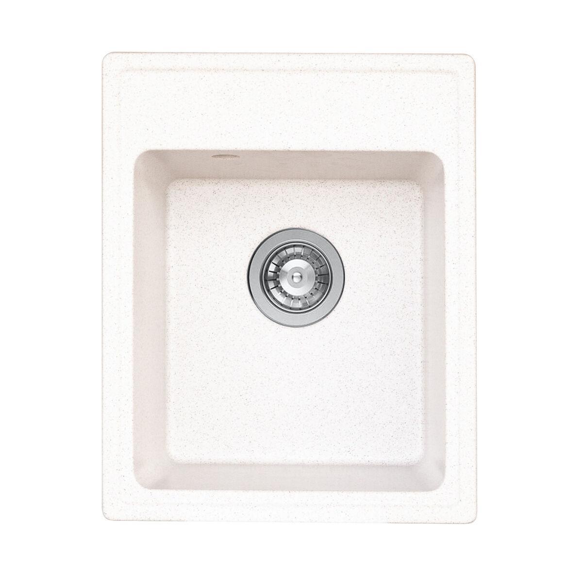 4050 RUBY глянець Мийка гранітна Platinum (топаз)