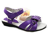 Детские босоножки для девочек c открытым носком Vinny Bear размеры 32-37