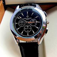 Модные мужские кварцевые часы Patek Philuppe. Привлекательные, стильные часы. Солидные часы. Код: КЕ408