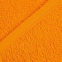 Рушник махровий Яр-400 Ярослав  70х140 см Помаранчевий, фото 3