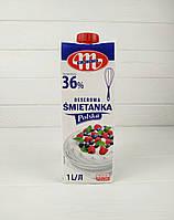 Вершки натуральні Smietanka Polska 36% 1л