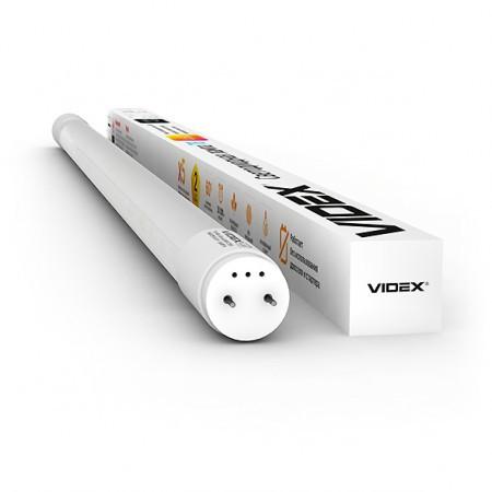LED лампа светодиодная VIDEX T8b 9W 0.6M 6200K 220V матовая