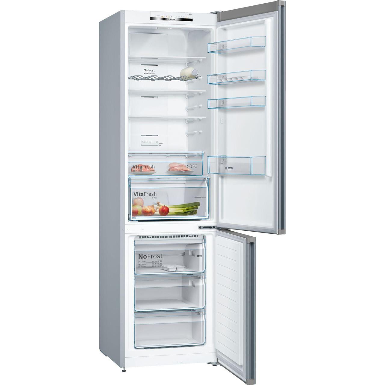 Холодильник с морозильной камерой Bosch KGE39AICA