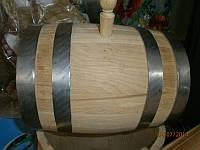 Бочка деревянная дубовая 10л