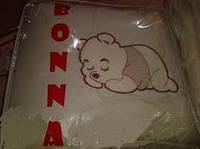 """Детский постельный комплект белья """"bonna lux"""" винни пух, бежевый"""