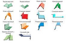 Доборные элементы для кровли и фасада (гибка)
