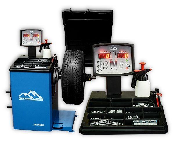 Балансировочный полуавтоматический станок для колес до 70 кг CB1960В