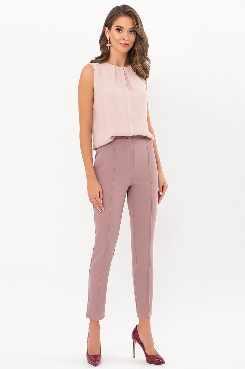 Однотонні жіночі класичні штани