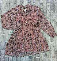 Платье шифоновое Принт для девушек размер 42-48,принт уточняйте при заказе