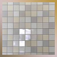 Декоративна панель пластикова ПВХ кахельна плитка Меланія 960 х 485мм стінова для кухні