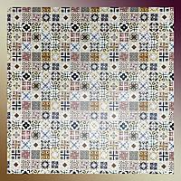 Декоративні панелі для стін ПВХ кахельна мозаїка Асорті 960 х 485мм стінова в коридор