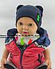 Шапки Оптом 40, 42, 44, 46, 48, 50 і 52 розмір трикотажна дитяча шапка головні убори опт дитячі