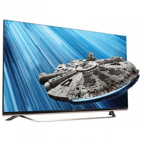 Телевизор LG 60UF851V (2000Гц, Ultra HD 4K, Smart, 3D, Wi-Fi, Magic Remote)