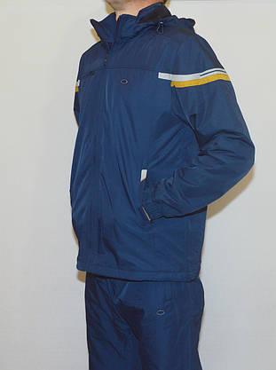 Утеплений чоловічий спортивний костюм  (L-3XL), фото 2