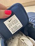 Сині кросівки, кеди з натуральної шкіри, фото 7