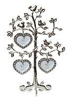 Мультирамка Птички семейное дерево со стразами на 3 фото