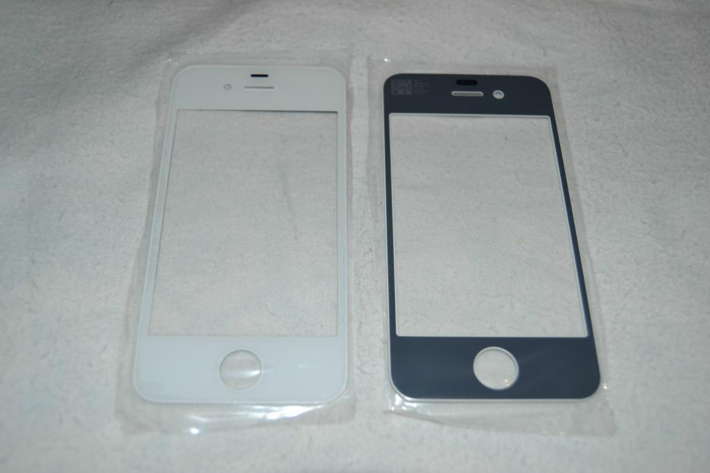 Стекло Сенсор Дисплея Apple iPhone 4, 4S White