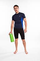 Мужская компрессионная спортивная футболка Rough Radical Fury Duo SS, рашгард с коротким рукавом, фото 1