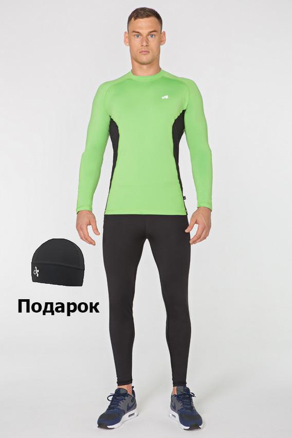 Чоловічий спортивний костюм для бігу Rough Radical Intensive(original) компресійний одяг,тайтсы+рашгард