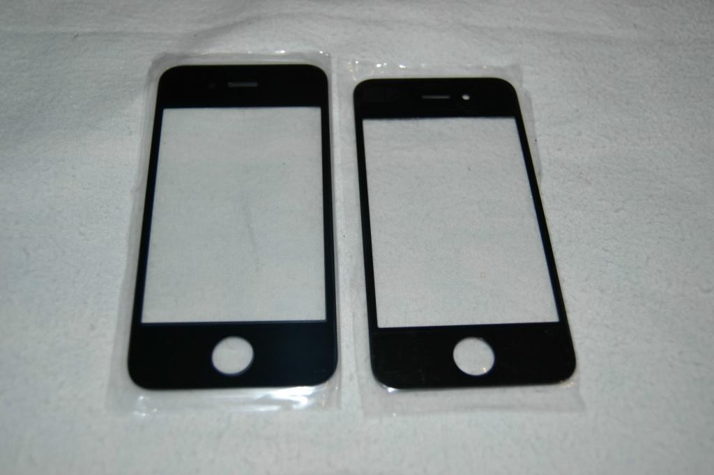 Стекло Сенсор Дисплея Apple iPhone 4, 4S Black
