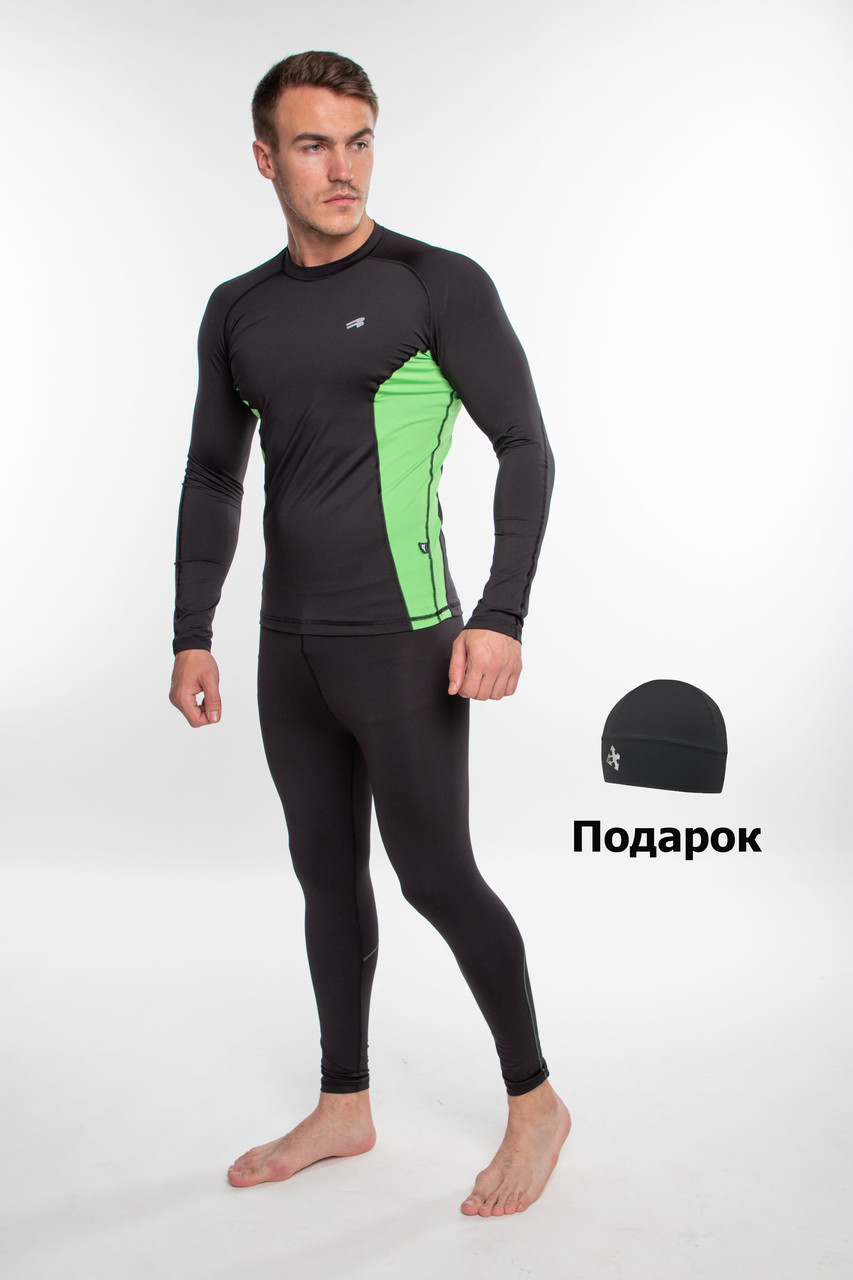 Чоловічий спортивний костюм для бігу Radical Intensive(original) компресійна спортивний одяг,тайтсы+рашгард