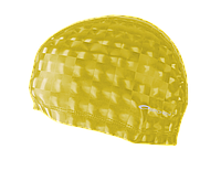 Шапочка для плавання лайкра Spokey Torpedo 3D 837550 (original) для басейну, для довгих волосся, поліуретан