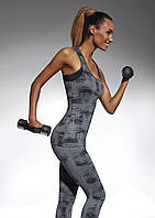 Спортивний жіночий топ BasBlack Intense-top 70 (original) подовжений, майка для бігу, фітнесу, спортзалу, фото 1