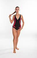 Закритий жіночий купальник Aqua Speed Greta (original), цілісний, злитий, для басейну, для пляжу, фото 1
