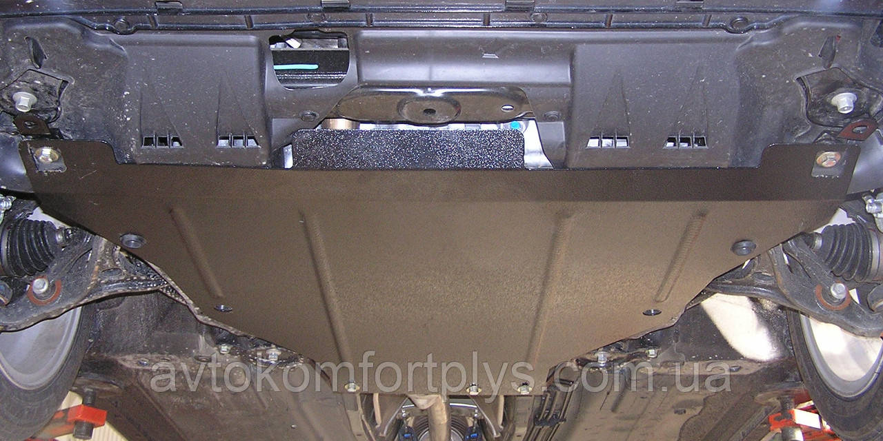 Металева (сталева) захист двигуна (картера) Honda Accord VIII (2008-2013) (V-2,4/3,5 АКПП)