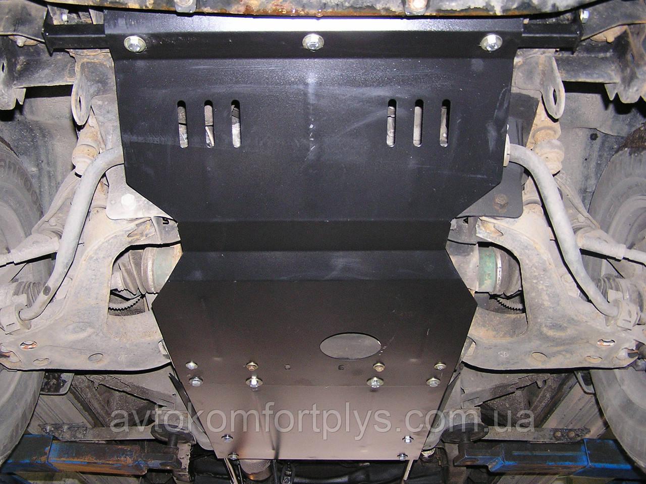 Металлическая (стальная) защита двигателя (картера) Dadi Shuttle (2005-) (V-2,2)