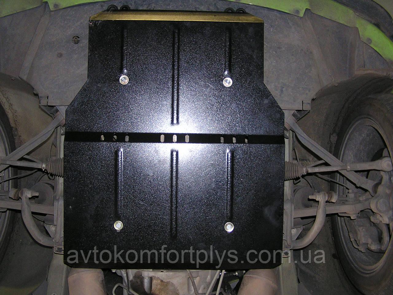 Металлическая (стальная) защита двигателя (картера) Dodge Charger SXT (2006-2010) (V-3,5; 5,7;)