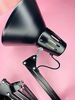 Настольная лампа на штативе (60Вт) черная
