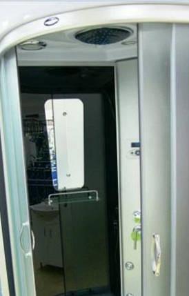 Гидромассажный бокс BADICO ECO 98007 100х100х212 с глубоким поддоном, фото 2