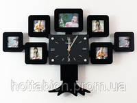 Большие часы настенные Семейное древо