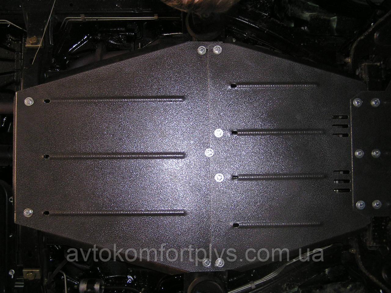 Металлическая (стальная) защита двигателя (картера) Great Wall Hover (2007-) (V-2,8  /дизель/)