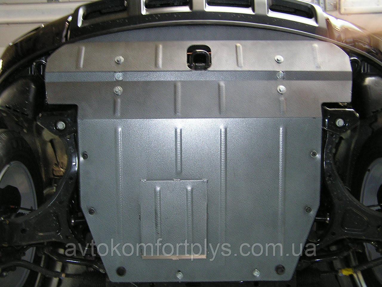 Металлическая (стальная) защита двигателя (картера) Hyundai Veracruz/IX55 (2007-2012) (V-3,0;3,8)