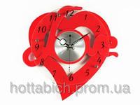 Часы для интерьера Сердце