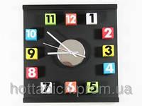 Настенные часы Кубики цветные