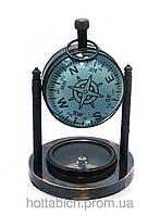 Настольные часы с компасом в кабинет
