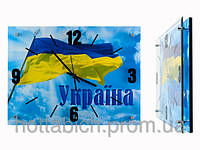 Часы настенные патриотам Украины