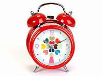 Красивый будильник часы Сердечки