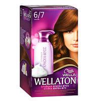 Wella WELLATON «Шоколад» Краска-мусс для волос (тон 6/7)