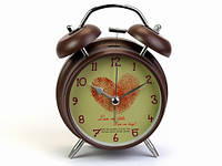 Оригинальный будильник часы Love