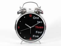 Большой будильник часы для интерьера
