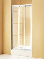 Душевая дверь трёхсекционная Huppe Alpha AL1014