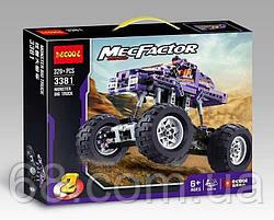 Конструктор 3381 (24/2) Авто-конструктор , 329 деталей, в коробці
