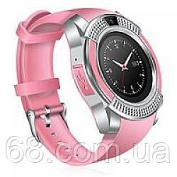 Умные часы Smart Watch V8 Розовый
