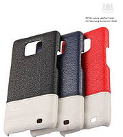 Чехол для Samsung i9100/i9105 Galaxy S2 - Nuoku ROYAL luxury leather cover