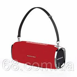 Портативна акустична Bluetooth колонка Hopestar A6 Червоний